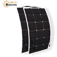 BOGUANG 180w Solar System Kit 90w 2 Flexible Solar Panel Mono High Efficiency Cell Photovoltaic Module