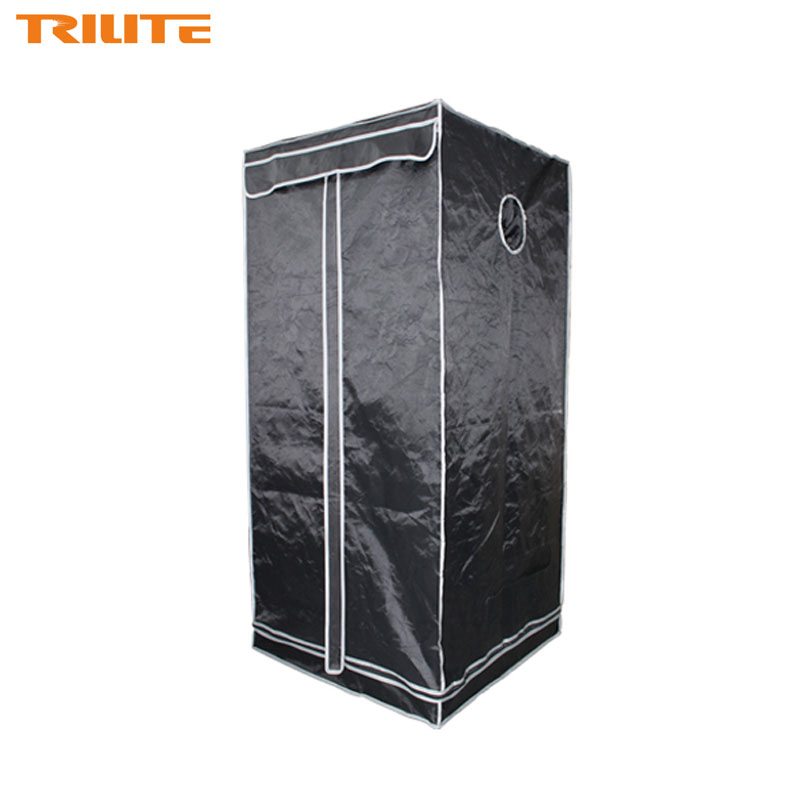 60x60x160cm Indoor garden grow tent hydroponics system greenhouse for garden,dark room indoor non toxic mylar reflective купить