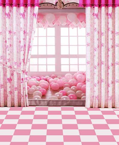 background pink studio backdrop backgrounds digital balloons curtain backdrops window camera muslin vinyl cloth tiles floor zoom spray painted mouse