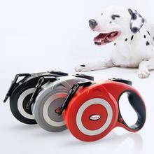 Retractable Dog Leash Automatic Extending Pet Walking Leads For Medium Large Dogs Adjustable Lead for Reflective