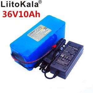 Image 2 - LiitoKala 36v 42V batterie au lithium 10ah batterie lithium ion 18650V 10000 mAh 10s4p bms chargeur de vélo électrique de grande capacité