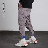 2018 Men Multi pocket Elastic Waist Design Harem Pant Street Punk Hip Hop Casual Trousers Joggers Male Dancing Pant Streetwear