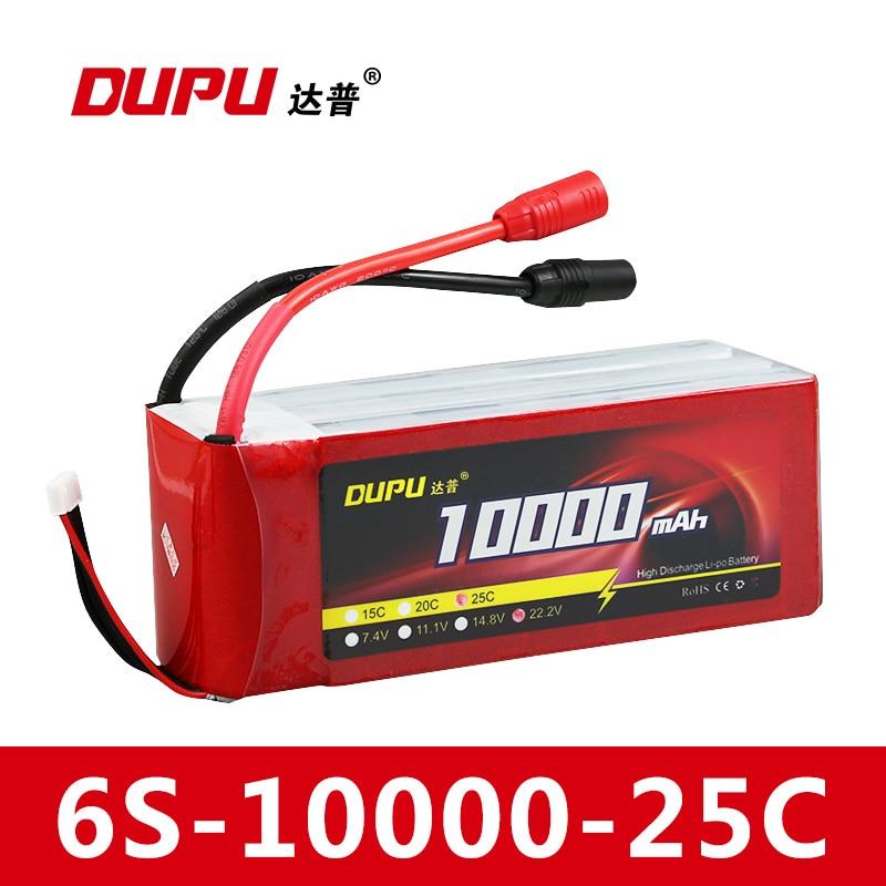 DUPU RC Lipo Battery 6S 22.2V 16000mah 15C XT60 For DIY FPV RC Helicopter Quadcopter Drone Multicopter dhl fedex shipping lipo battery 22 2v 16000mah 30c 6s1p li po battery xt90 plug for rc multicopter octocopter fpv rc drone
