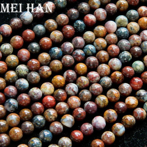 Image 4 - Meihan freeshipping (2 fili/set) naturale 6 millimetri Pietersite rotonda incredibile perline di pietra per monili che fanno di disegno Di Natale