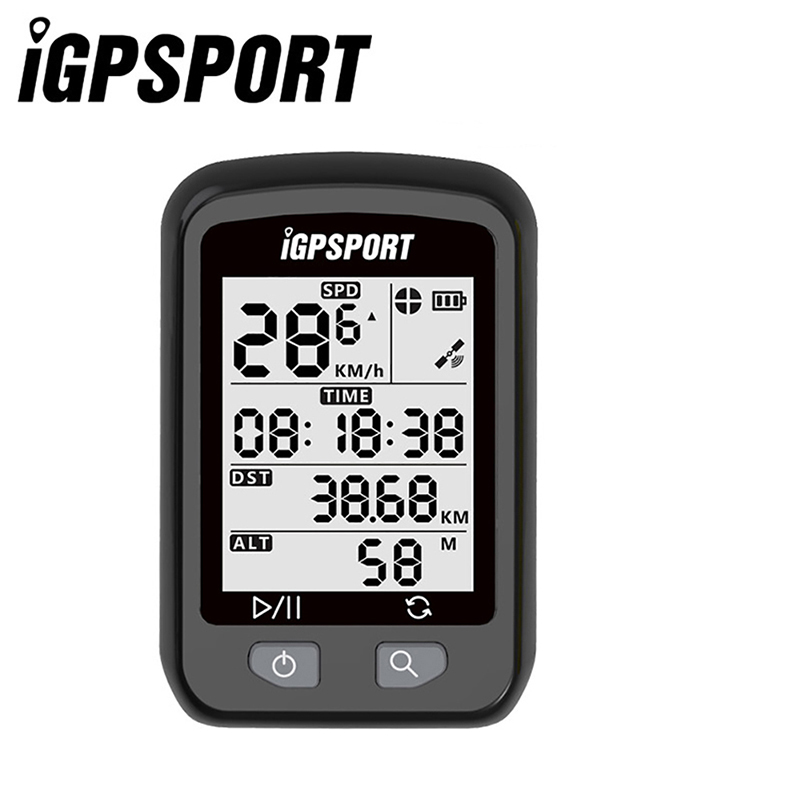 IGPSPORT Bike Wireless Stopwatch GPS Bicycle Wireless Computer IPX6 Waterproof Cycling Speedometer with S60 Out Front