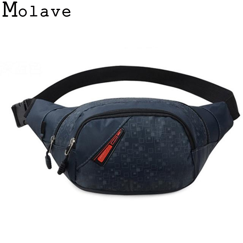 New Arrivals Fashion Unisex Functional Bag Cool Casual Waist Bag Pack Men Women Outside Phone Money Canvas Patchwork Bag Apr13