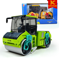 KAIDIWEI 1:50 Scale Engineering Vehicle Model SINGLE DRUM COMPACTOR Road Roller Alloy Heavy Forklift Toy Car