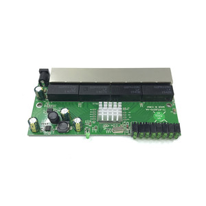 Image 5 - 8 port Gigabit switch module is widely used in LED line 8 port 10/100/1000 m contact port mini switch module PCBA Motherboard