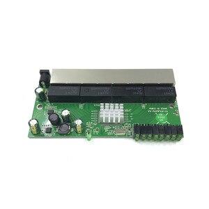 Image 5 - 8 port switch Gigabit modulo è ampiamente usato in LED linea 8 port 10/100/1000 m contatto porta mini modulo switch PCBA Scheda Madre