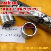ZOKOL 베어링 HK202620 HK2020 HK202625 HK2025 HK202630 (HK2030 HK202720 TA2020 바늘 롤러 베어링 20*26/27*20/25/30mm bearing bearing bearing roller bearingbearing needle roller -