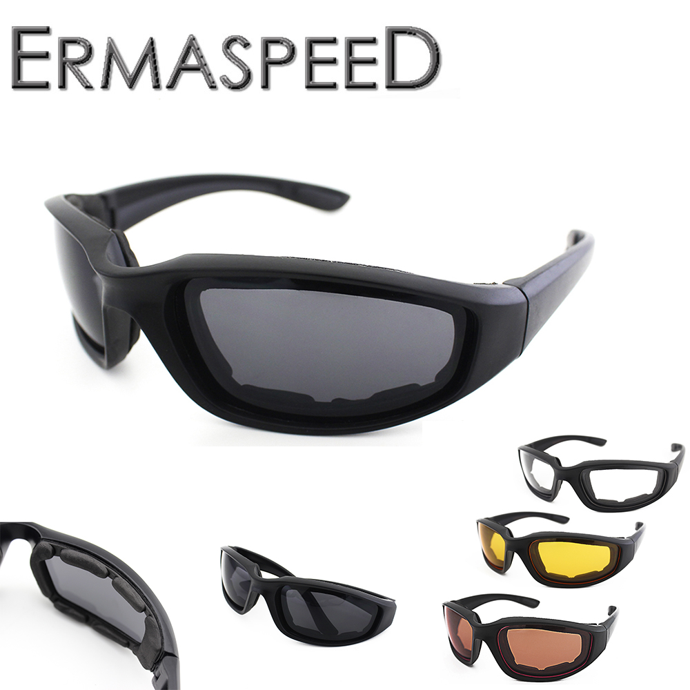 Motorcycle Glasses Army Sunglasses Cycling Eyewear Outdoor Sports Bike Goggles Windproof Glasses Motobike Men Eyewear