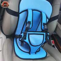 Free Shipping Children Car Safety Seat Belt Baby Seat Belt Car Safety Chair Simple Portable Seats