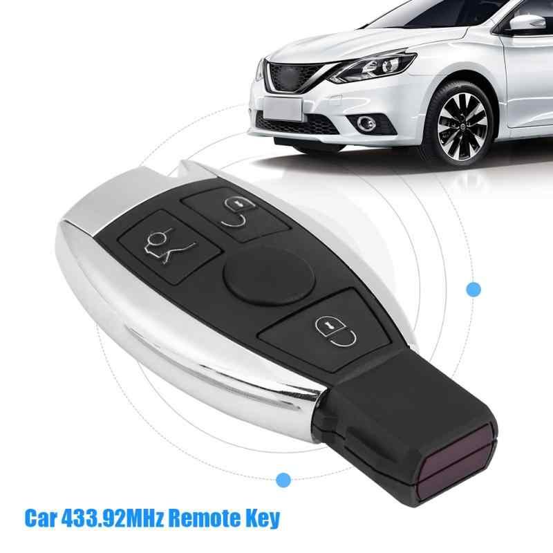 3 Кнопка автомобиля дистанционного Управление ключ 433,92 мГц PCF9234 чип передатчик для Mercedes Benz BGA автомобиль дистанционного передатчика ключ
