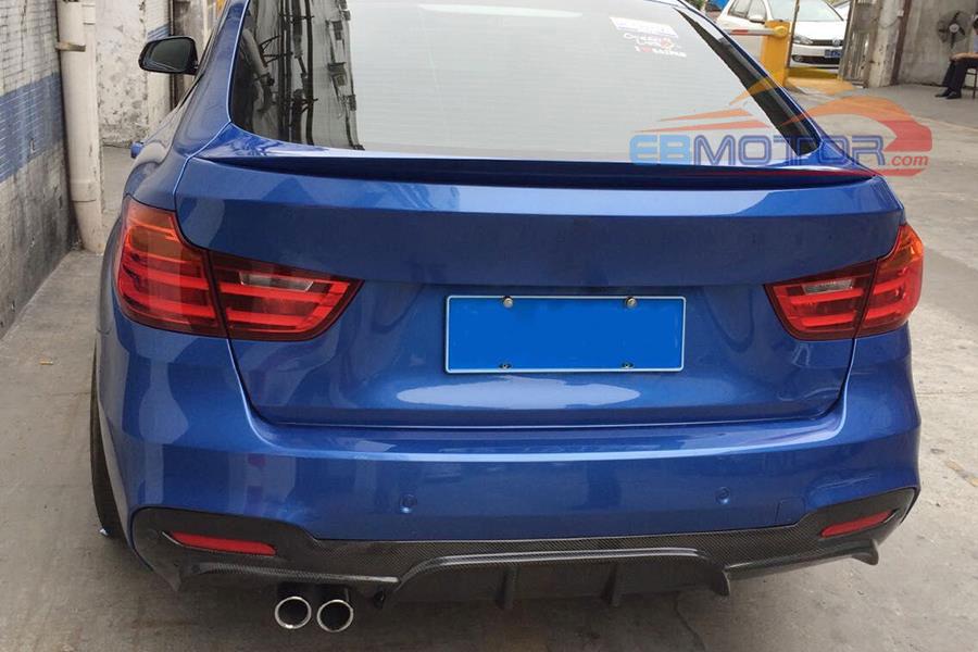 BMW 3 SERIES F34 GT m-packet year built 2013 Bumper Diffuser Spoiler Rear Bumper