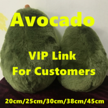 Avocado Fruits Cute Plush Toys Stuffed Dolls Cushion Pillow for Kids Children Christmas Gift Girls and Vegetables