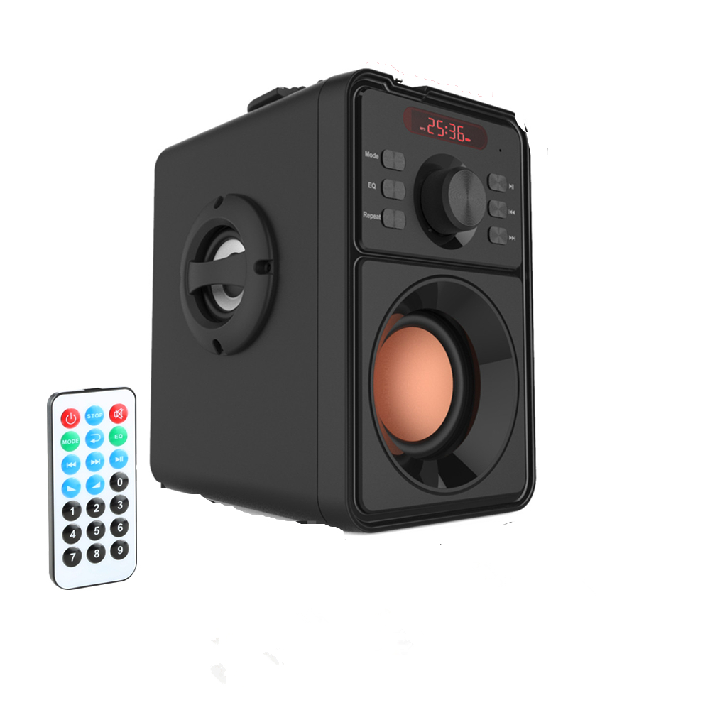 Portable Wireless Bluetooth Speaker TF Card FM Radio Home Computer Speaker for PC phone MP3/4 Android iPhone with Remote ControlPortable Wireless Bluetooth Speaker TF Card FM Radio Home Computer Speaker for PC phone MP3/4 Android iPhone with Remote Control