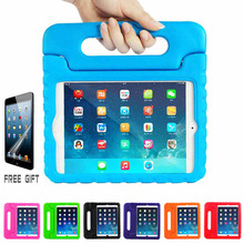 For Pad Mini 4 case Shockproof Kids Handle EVA Foam Case Cover For Pad5/ Air / Pad 4 3 2/ Pad Mini 3 2 1 + Free Gift Film