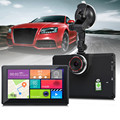 7 polegada Android 4.4 Bluetooth de Navegação GPS Do Carro Do Veículo DVR Gravador de câmera Com WI-FI FM 8 GB 512 MB Caminhão Navegador Livre mapa