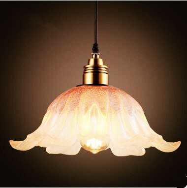 Glass Shade Nordic Loft Style Industrial Lamp Retro Lampe Vintage