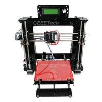 Корабль из Германии Geeetech с открытым исходным кодом i3 Pro B 3D принтеры акриловая рамка Impressora DIY Наборы 5 материалы Поддержка
