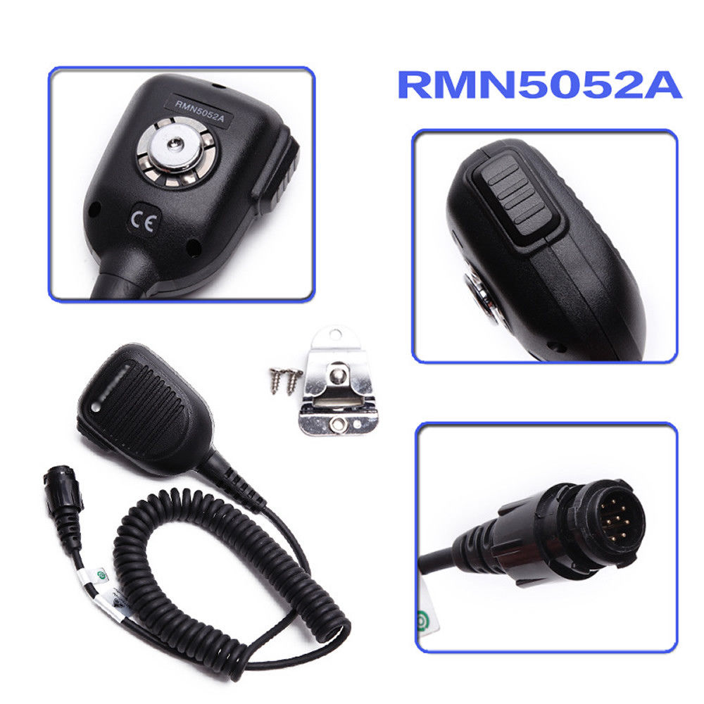 RMN5052A Speaker Microphone For MOTOTRBO DGM4100 DGM6100 DM3400 DM3601 DM4400 M8220 M8268 M8620 XPR4300 XPR4550 XPR5350 XTL5000