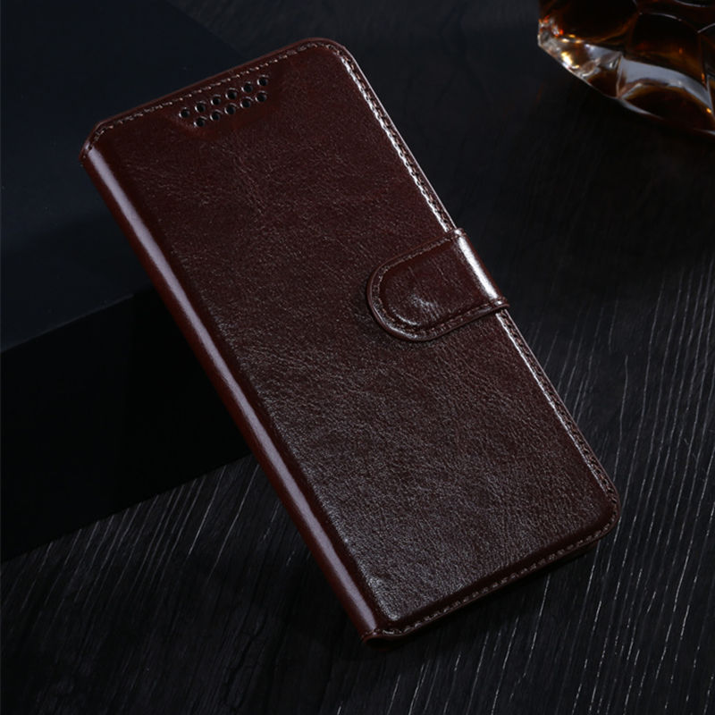 Flip PU Leather Wallet Cover For Alcatel One Touch Pixi First 4024D 4024X 5010D 5017 5019 5019D 8050 5045D 8050D pencil case image