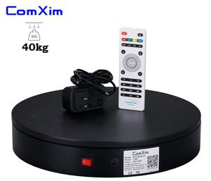 Image 3 - ComXim 32cm 12.6in Remote Control Rotating Electric Photography Turntable,Display Stand,