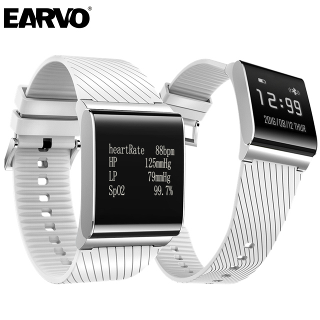 EARVO X9 Plus Sport Bracelet Bluetooth Smart Wristband OLED Screen IP67 Waterproof Heart Rate Blood Pressure Monitor Podemeter