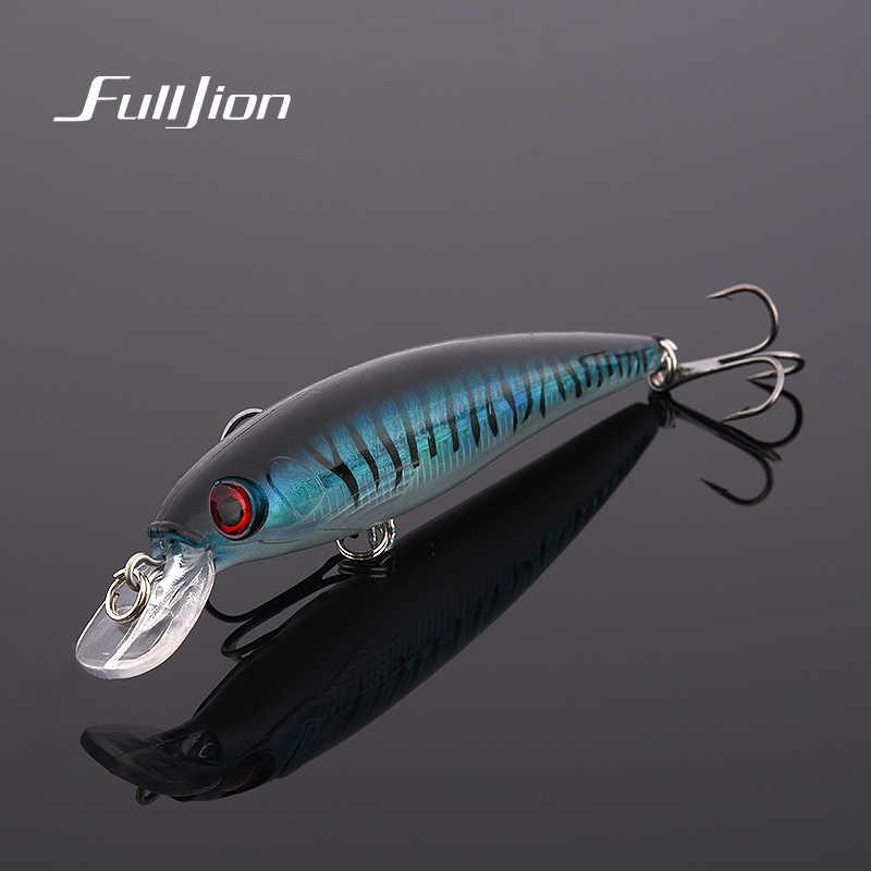 1 pièces leurres de pêche 3D yeux flottant Laser méné dur artificiel Wobblers manivelle appâts en plastique Pesca Isca 11cm 13.5g