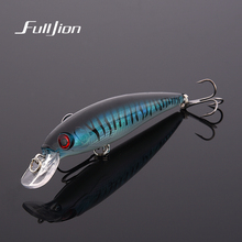 1pcs Fishing Lures 3D Eyes Floating Laser Minnow Hard Aritificial Wobblers Crankbait Plastic Baits Pesca Isca 11cm 13.5g