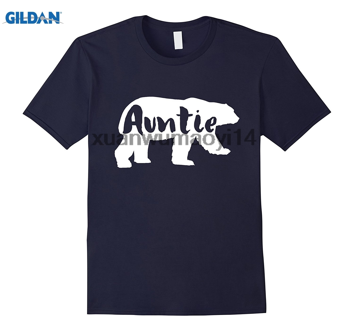 GILDAN Auntie Bear t shirt Mama and Papa Bear