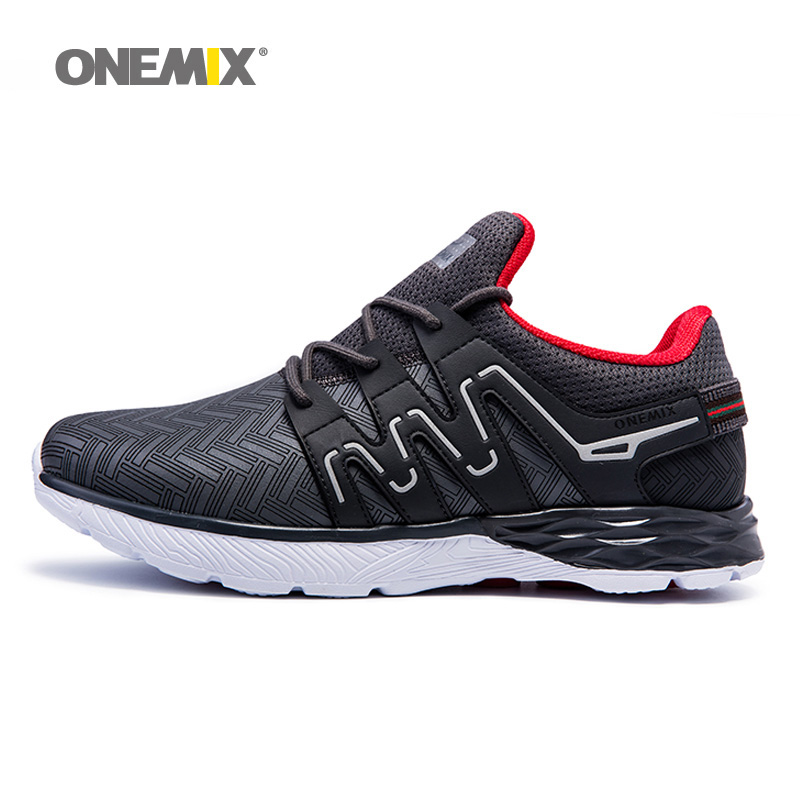 Man Running Shoes for Men 2018 Trail Nice Trends Athletic Trainers Black White Mens Breathable Sports Shoe Sneakers Free Ship onemix 2018 woman running shoes women nice trends athletic trainers zapatillas sports shoe max cushion outdoor walking sneakers