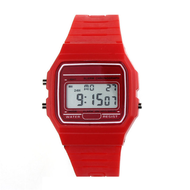 Men Sports Watches Waterproof Back Light LED Digital Watch Chronograph Shock Double Time Wristwatches For Gift #4M16#F 4