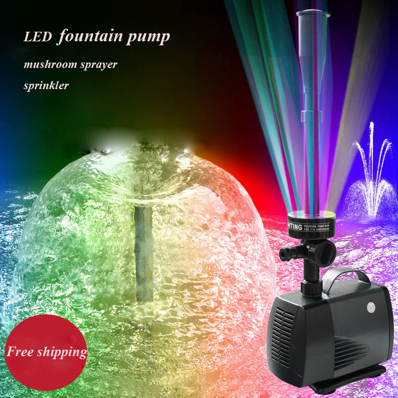 ФОТО water pump fountain led 2016 new submersible fountain pump
