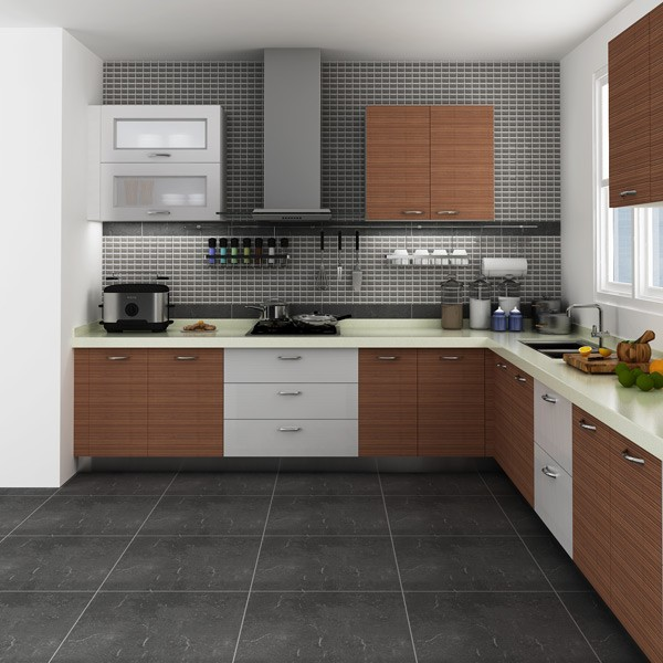 Modular Kenya Project Simple L Shaped Small Kitchen Designs (OP14 M05) In  Kitchen Cabinets From Home Improvement On Aliexpress.com | Alibaba Group