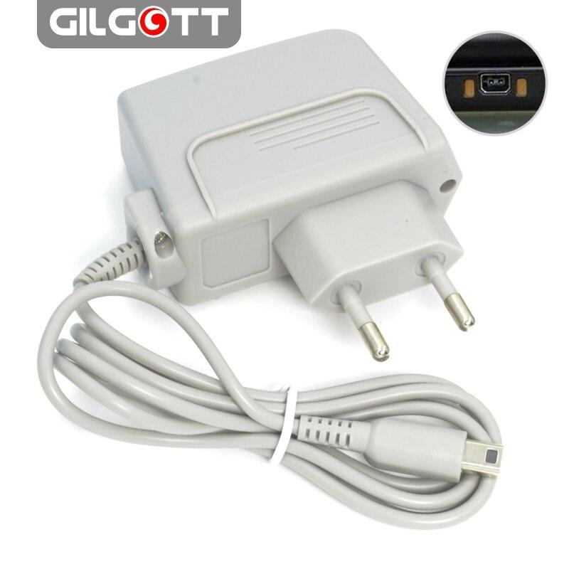 Дорожное зарядное устройство с вилкой европейского стандарта для Nintendo NEW 3DS XL AC 100 в-240 в, адаптер питания для Nintendo DSi XL 2DS 3DS 3DS XL