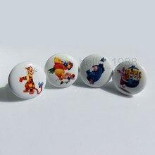 Cute Lovely Animal Ceramic Cabinet Knob Handle Kid's Room Drawer Pull Knob Children Boys Girls Boys Bedroom Knob
