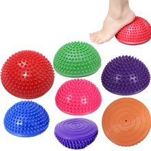 Yoga Half Ball Physical Fitness Appliance Exercise Balance Ball Massage Stepping Stones Balance Pods GYM YoGa Ball mini play ball physical fitness ball for fitness appliance exercise wobble stability balance balls indoor ourdoor toys for kids