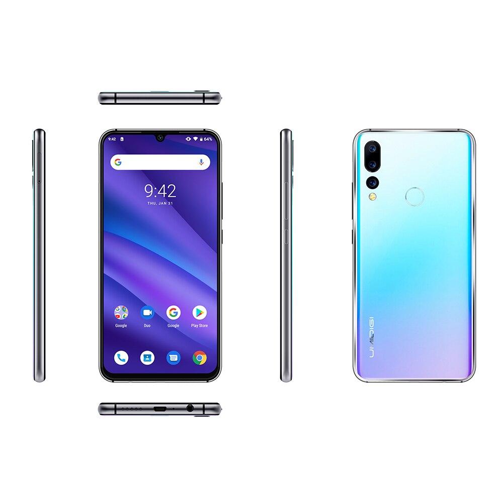 "HTB1YJyyeQ5E3KVjSZFCq6zuzXXat UMIDIGI A5 Pro Android 9.0 Octa-core 6.3"" Mobile Phone 16MP Triple Camera 4150mAh 4+32GB Global LTE 4G Fingerprint Smartphone"