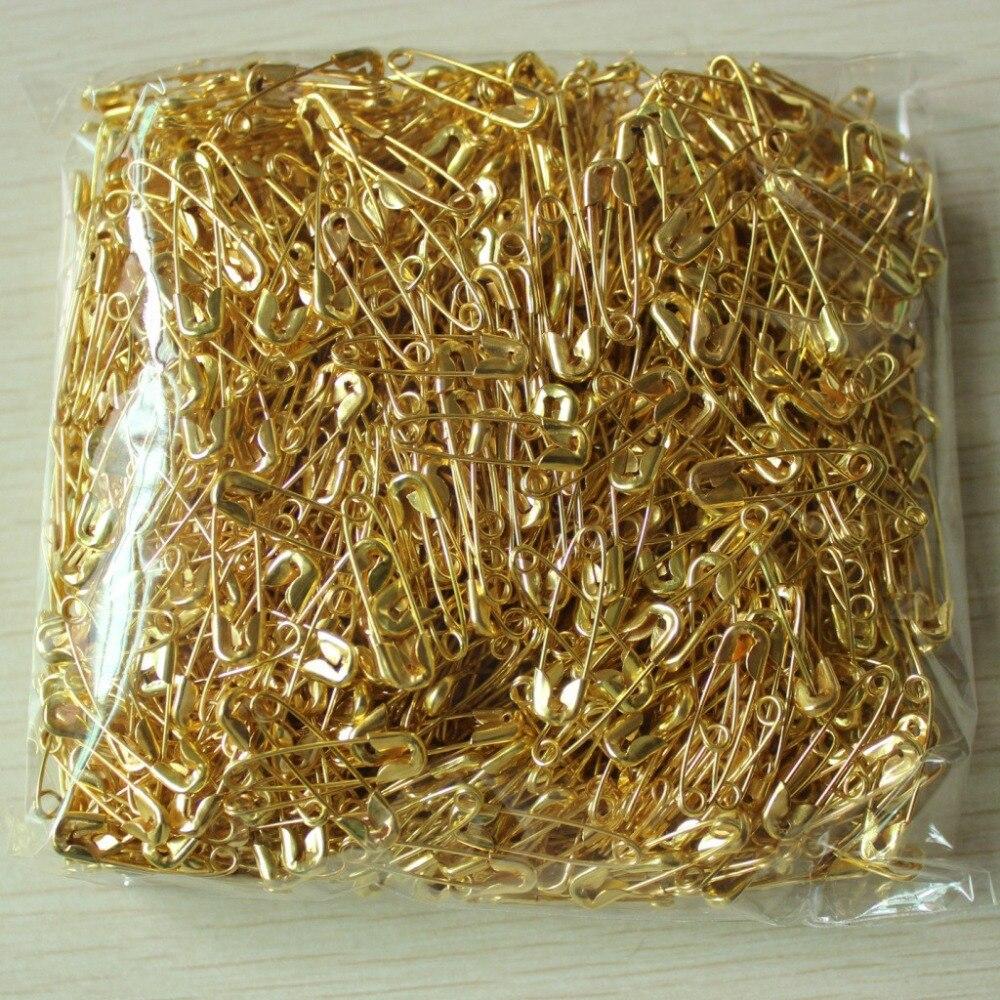 Wholesale first aid kit supplies Safety pin Mini Metal Fixed bandage safe pin safety pin 1000pcs/bag