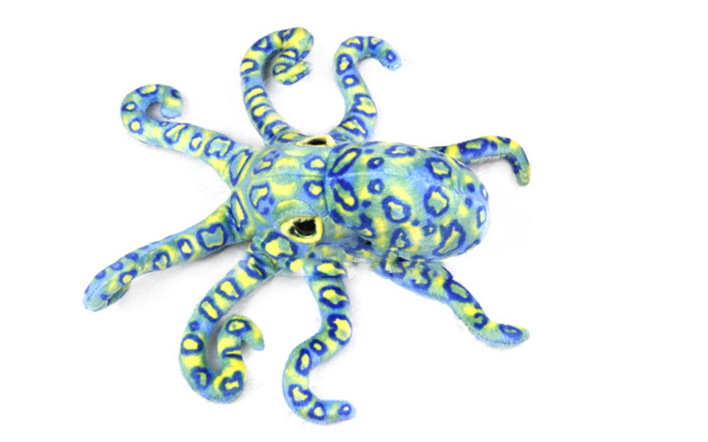 BOLAFYNIA Children Plush Stuffed Toy octopus sea animal three colors Baby Kids Toy for Christmas Birthday Gift