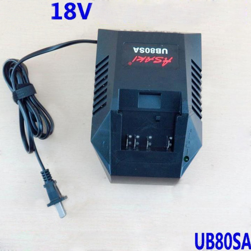 Power Tool Battery Chargers UB80SA for Bosch 18V Li-ion lithium battery, High quality! high quality brand new 3000mah 18 volt li ion power tool battery for makita bl1830 bl1815 194230 4 lxt400 charger