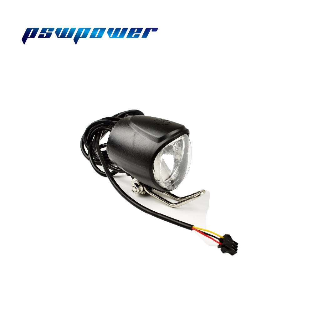 Universal voltage 24 48v wuxing qd139 2 headlight for Dc motor light led