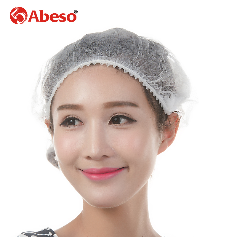 ABESO 100PCS antistatic disposable polyester conductive fiber safety helmet workshop/laboratory/factory safety work helmet A7255 carbon fiber antistatic brush remove static electricity 1460x1400mm