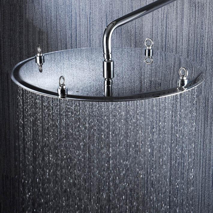 2015 new arrival 20 inch 50*50cm rainfall shower head 304 SUS  ultra thin design contemporary pommeau de douche 50% 2015