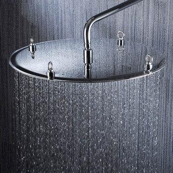 2015 recién llegado 20 pulgadas 50*50cm cabeza de ducha de lluvia 304 SUS diseño ultra delgado contemporáneo pommeau de Ducha