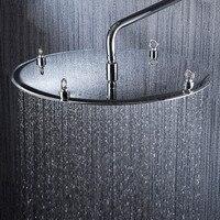 Nuevo 2015 nueva llegada 20 pulgadas 50*50 cm cabezal de ducha de lluvia 304 SUS ultra delgado diseño contemporáneo pommeau de idiota.