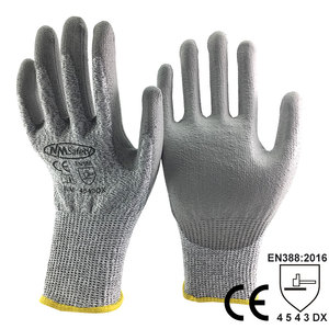 Image 2 - NMSafety Anti Knife Security Protection Glove with HPPE Liner Cut Resistant Safety Working Gloves