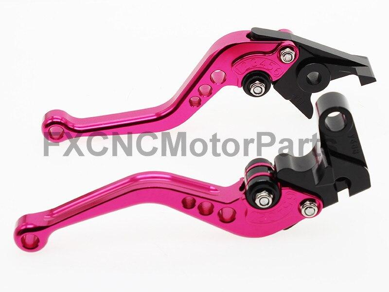 CNC extensible pliable R/églage de La moto leviers de frein dembrayage pour Honda Cb500/F 2013/2014/2015/2016