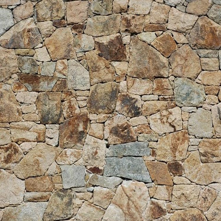 Chinese rural style beige 3d stone wallpaper grey brick for 3d stone wallpaper for walls